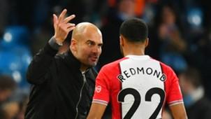 Pep Guardiola Nathan Redmond Manchester City Southampton