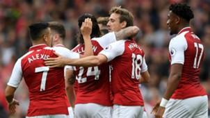 Nacho Monreal Arsenal 2017