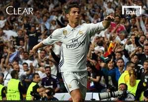 Clear - Cover 100 Gol Liga Champions Cristiano Ronaldo