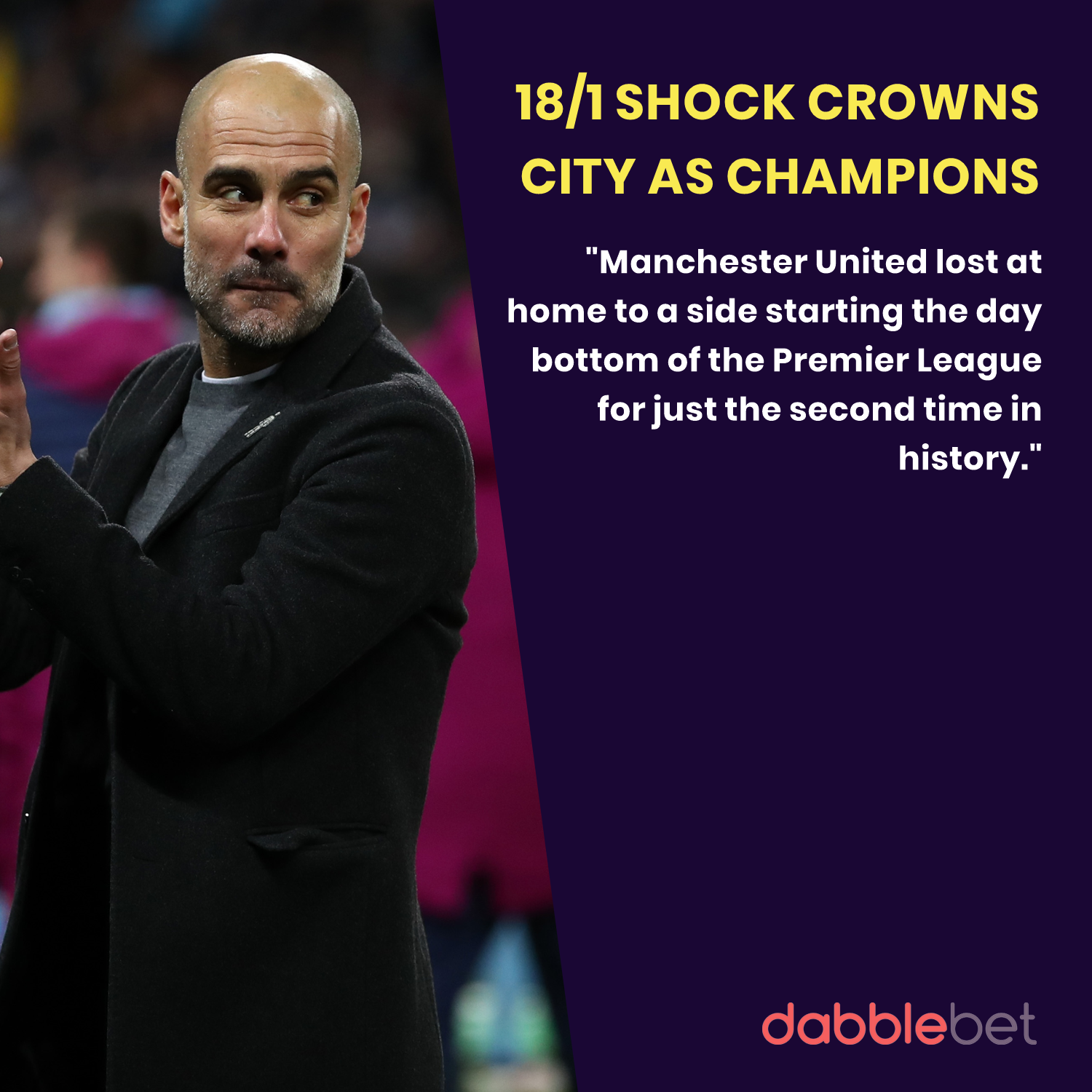 Manchester City crowned as champions