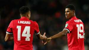 Jesse Lingard Marcus Rashford Manchester United