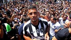 Diego Souza Botafogo apresentação 09 03 2019