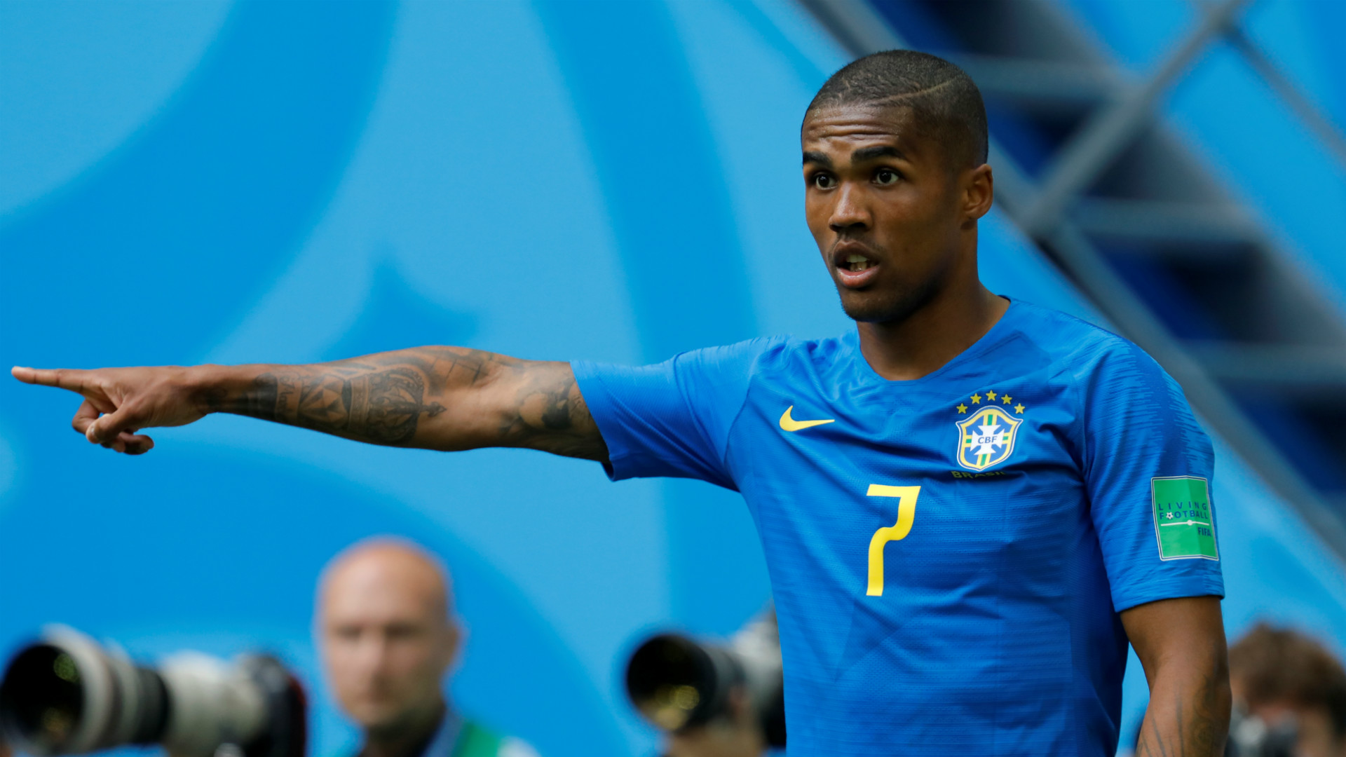 Douglas Costa Brazil vs Costa Rica World Cup 2018