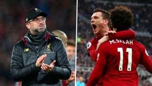 Klopp Robertson Salah Liverpool