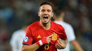 Saul Niguez Spain U21 vs Italy