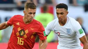 Thorgan Hazard Trent Alexander Arnold Belgium England World Cup