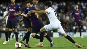 Lionel Messi FC Barcelona FC Valencia 07102018