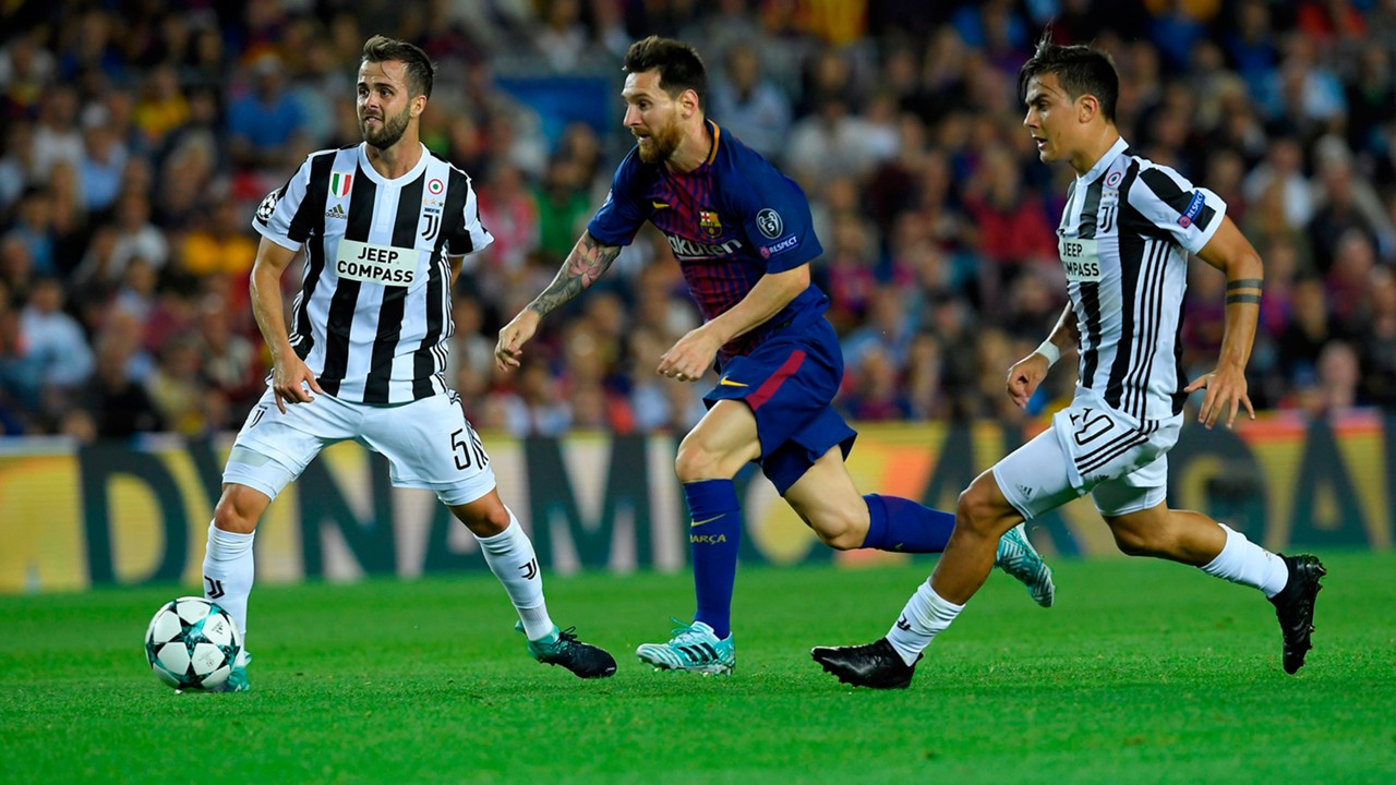 Lionel Messi Barcelona Juventus