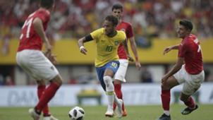 Neymar Brasil x Áustria Amistoso 10 06 18