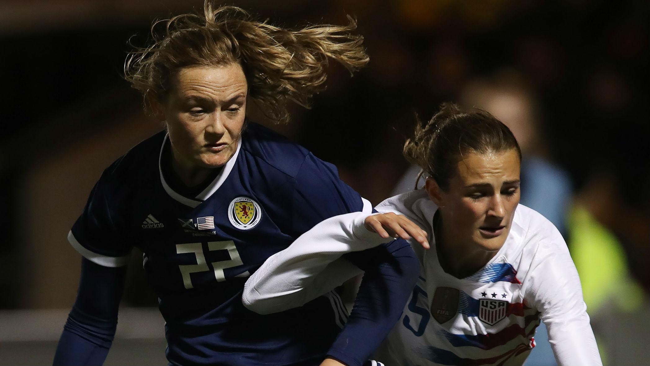 Erin Cuthbert Scotland Emily Fox USWNT