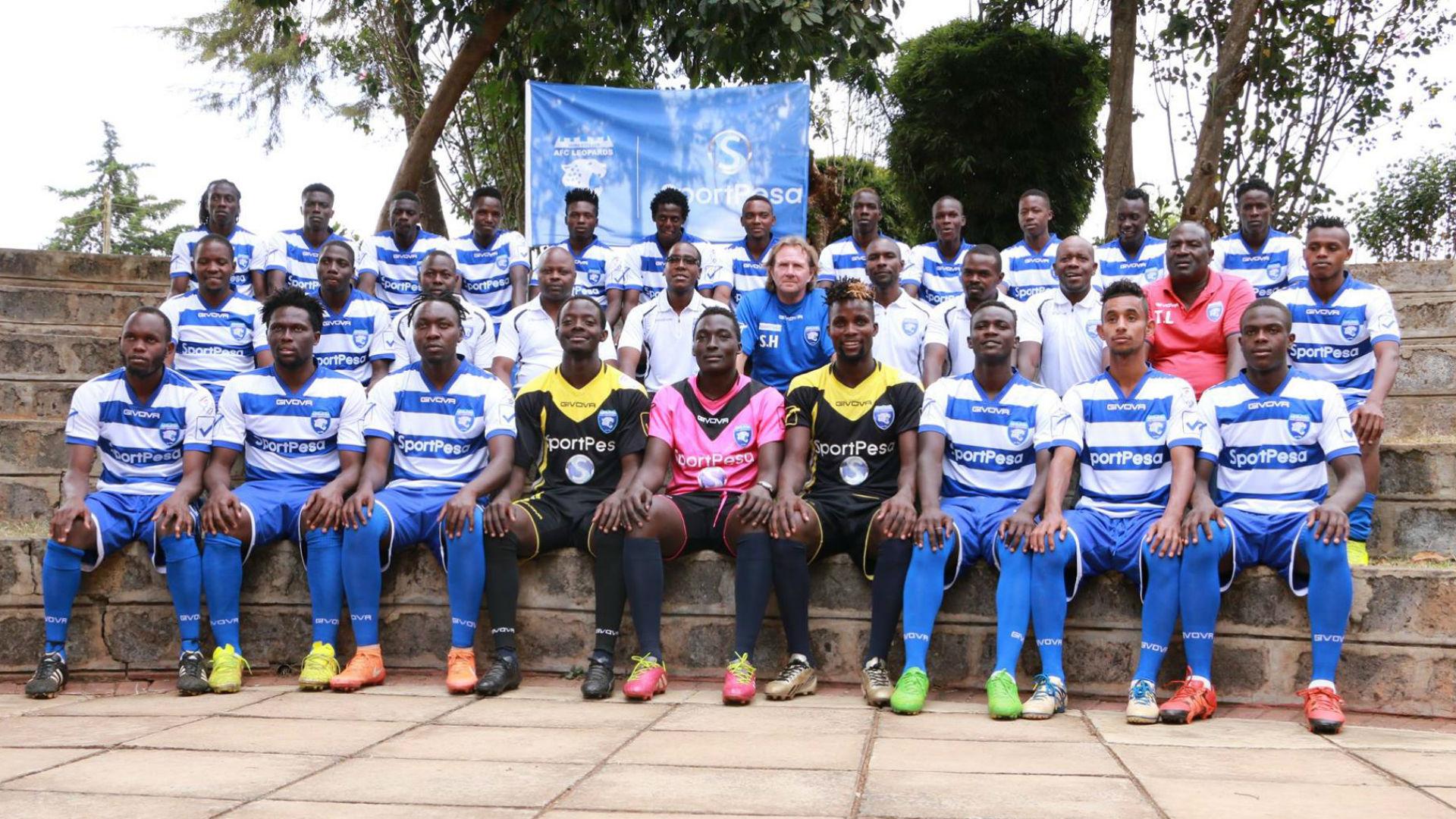AFC Leopards 2017 squad