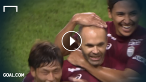 iniesta highlights tor vissel kobe