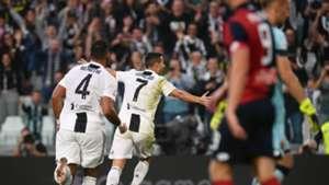 Ronaldo celeb Juventus Genoa