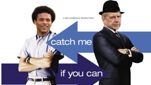 GFX Catch me if you can Leroy Sane Arsene Wenger