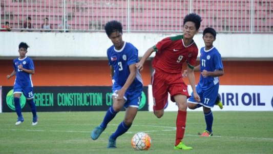 Indonesia U-16 vs Filipina U-16 | Friendly Match | 21052017