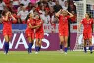USWNT Press England World Cup