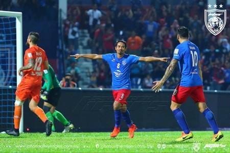 Safiq Rahim Johor Darul Ta'zim Malaysia Super League 15042017