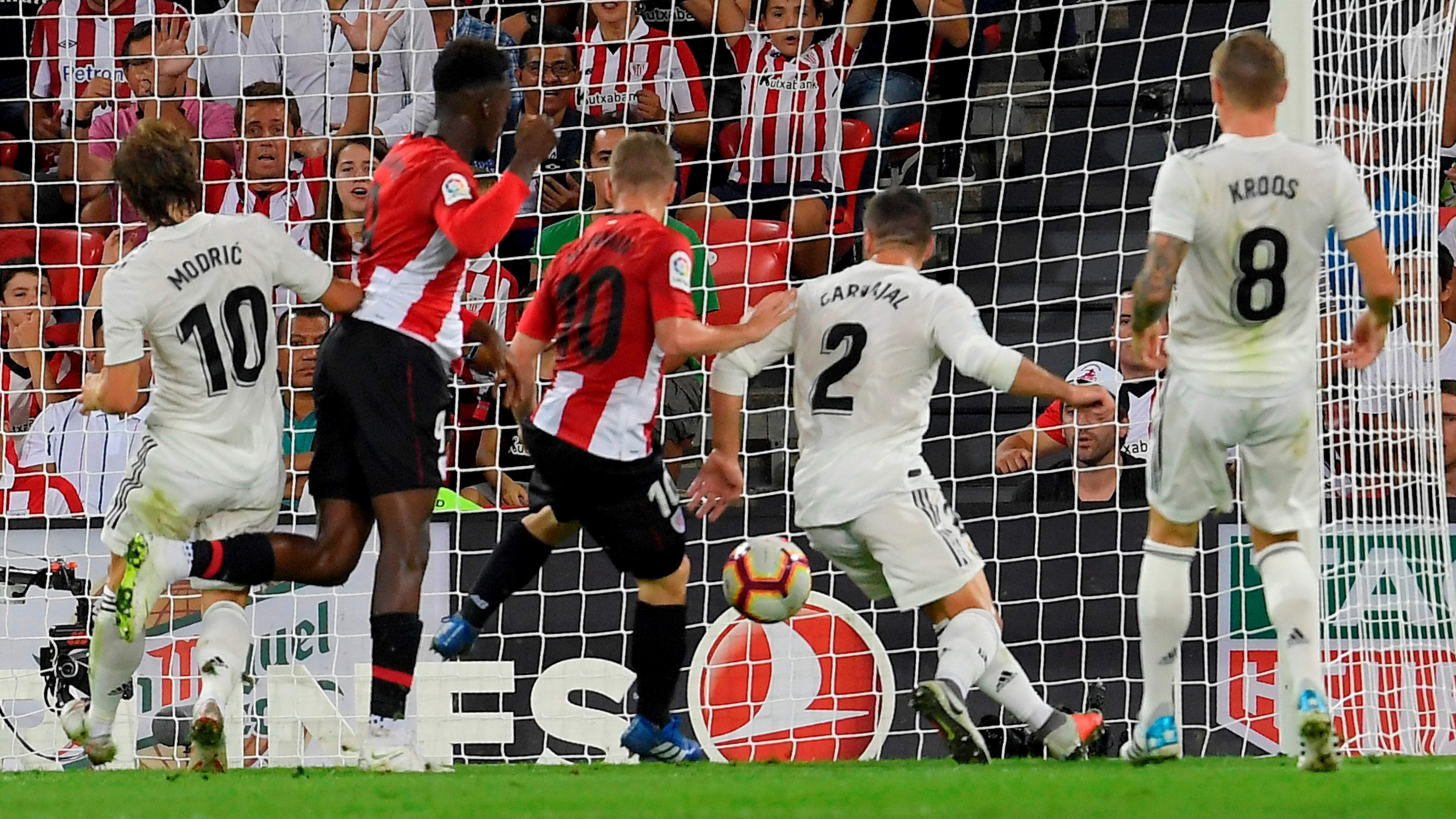 Iker Muniain Athletic Club Real Madrid LaLiga 15092018