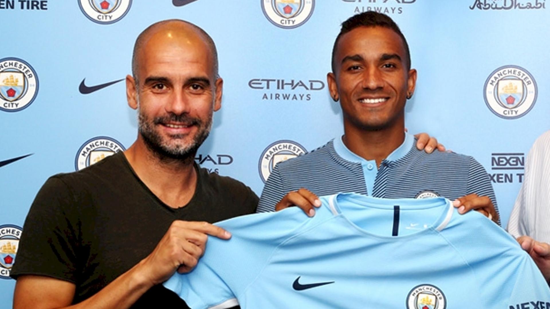 Manchester City Danilo Pep Guardiola 07232017