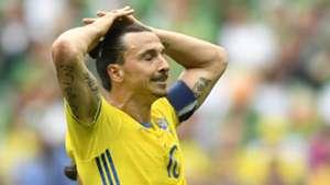 Zlatan Ibrahimovic Ireland Sweden Euro 2016
