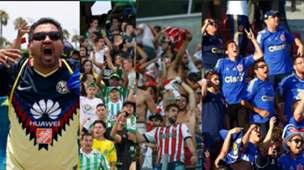 Collage Aficionados Estadios
