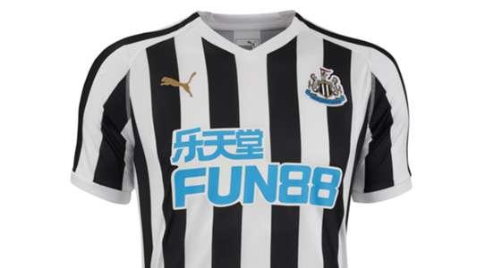 Newcastle United 18-19 home kit