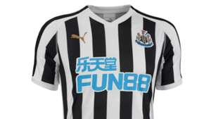 Newcastle United 18-19 home kit