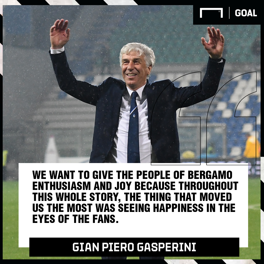 Gian Piero Gasperini Atalanta PS