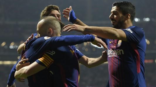 Andres Iniesta Barcelona Copa del Rey