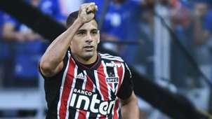 Diego Souza Cruzeiro São Paulo Brasileirão 29 07 2018