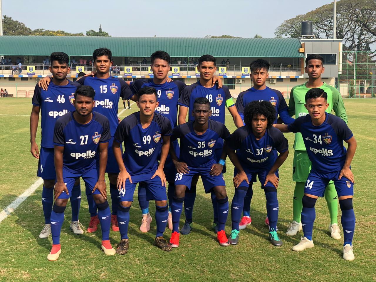 Kerala Blasters (R) vs Chennaiyin FC B