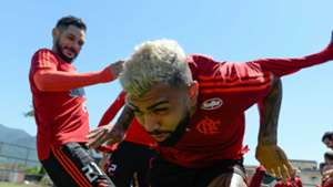 Gabigol batismo Flamengo 2019