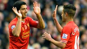 Luis Suarez Coutinho FC Liverpool 09112013