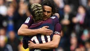 Cavani e Neymar PSG x Bordeaux Ligue 1 30 09 17