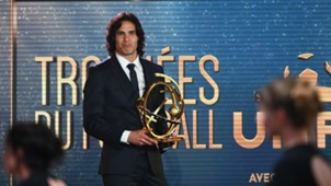 Edinson Cavani PSG Award Best Player