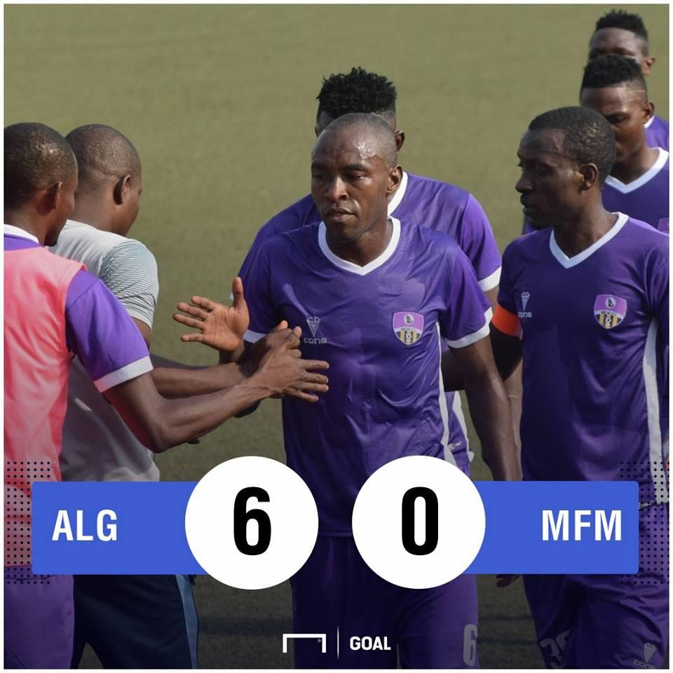 MC Alger MFM scoreline PS