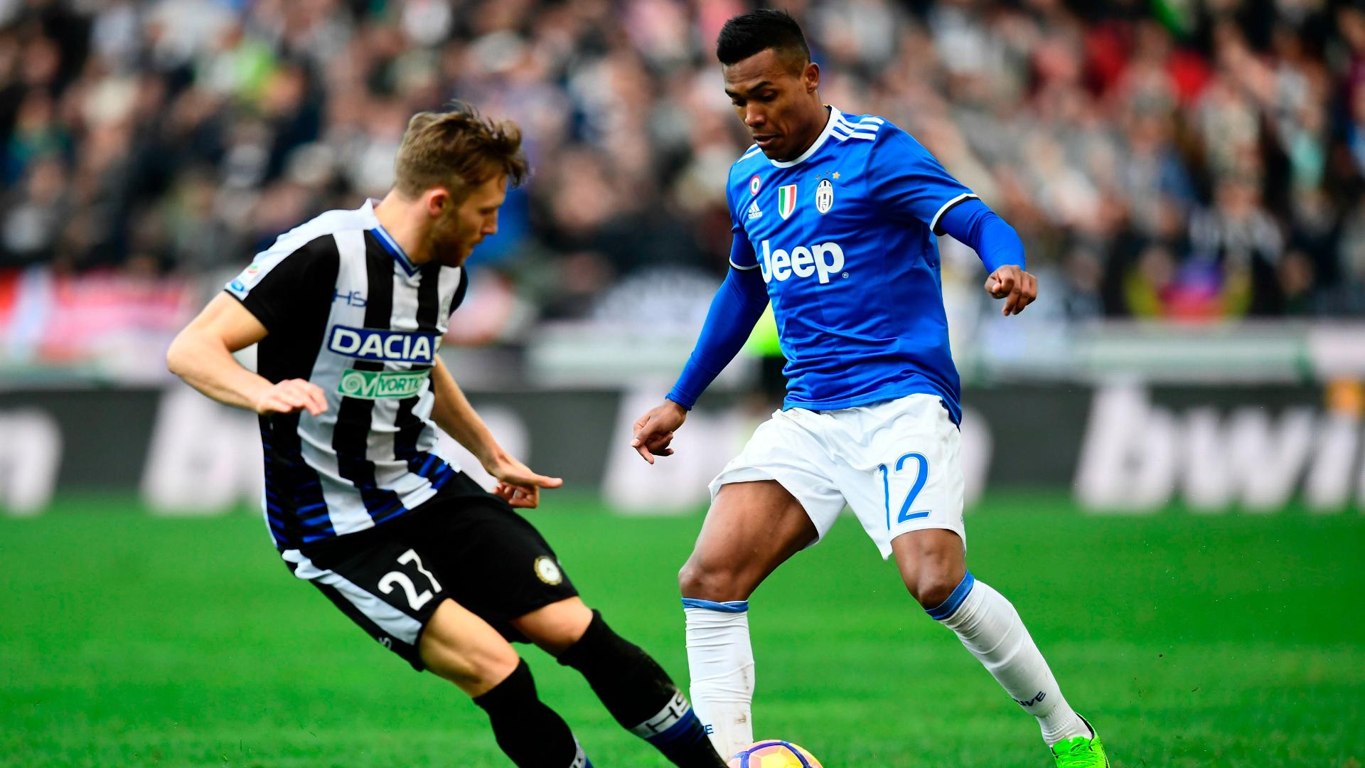 Alex Sandro Udinese Juventus Serie A 05032017