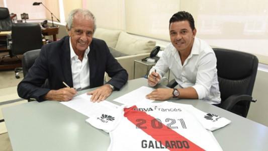 Marcelo Gallardo Rodolfo Donofrio Contrato 03012018