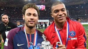 Neymar Mbappe PSG 09052018