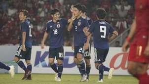 U19 Nhật Bản U19 Indonesia Tứ kết giải U19 châu Á 2018