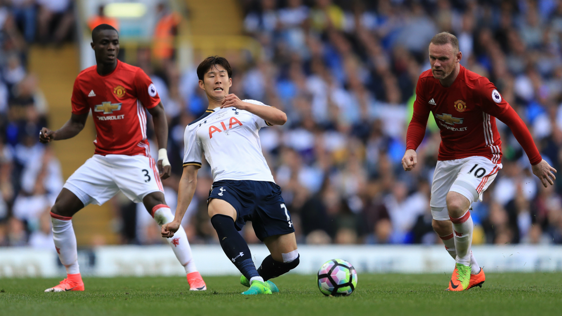 Heung-Min Son Totenham Manchester United 14052017