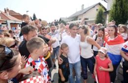 croatia - varazdin - zlatko dalic - welcome party - 17072018