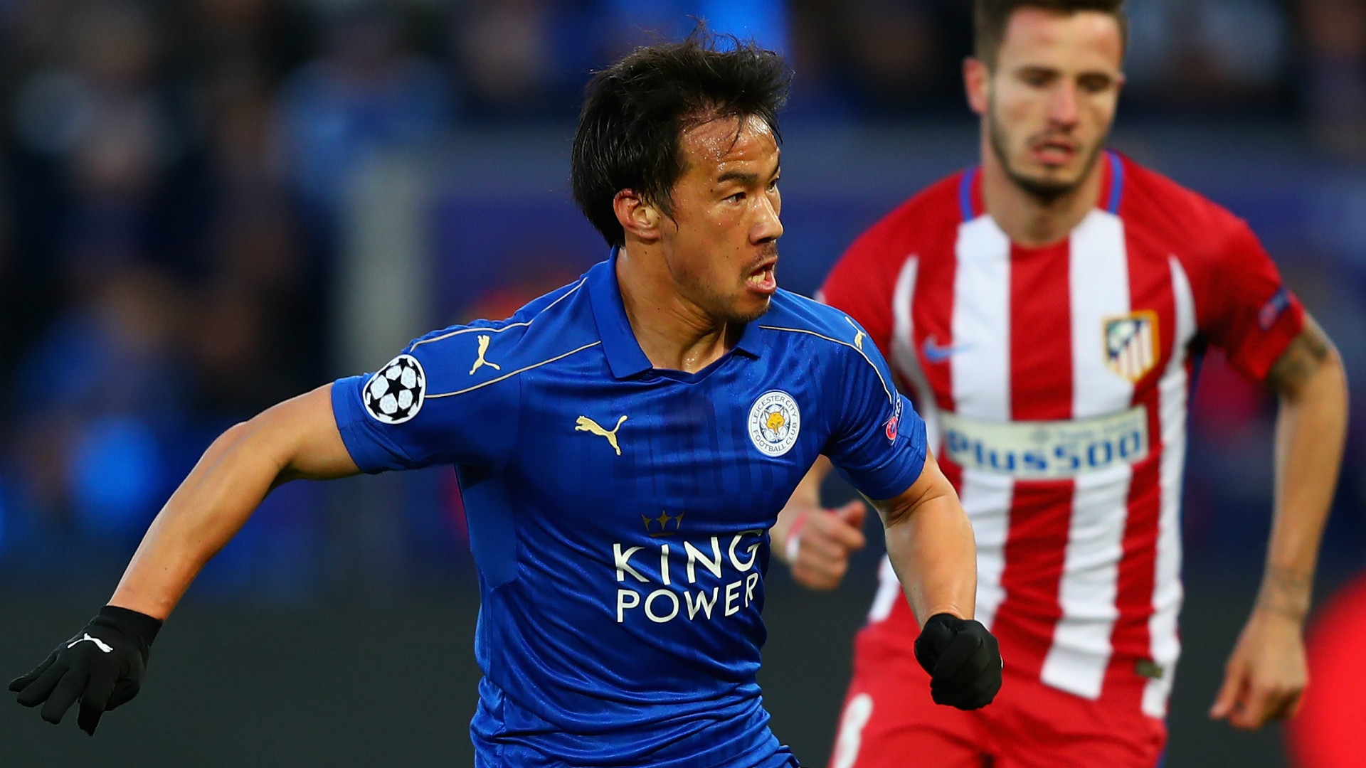 HD Shinji Okazaki Leicester Atletico Madrid Champions League