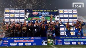 Quảng Nam vô địch Siêu Cúp