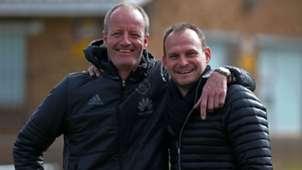 Ajax Cape Town, Hans Vonk & Sean Roberts