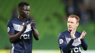 Corey Brown Kenny Athiu Melbourne Victory