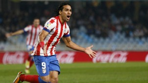 Radamal Falcao Atletico Madrid 2012