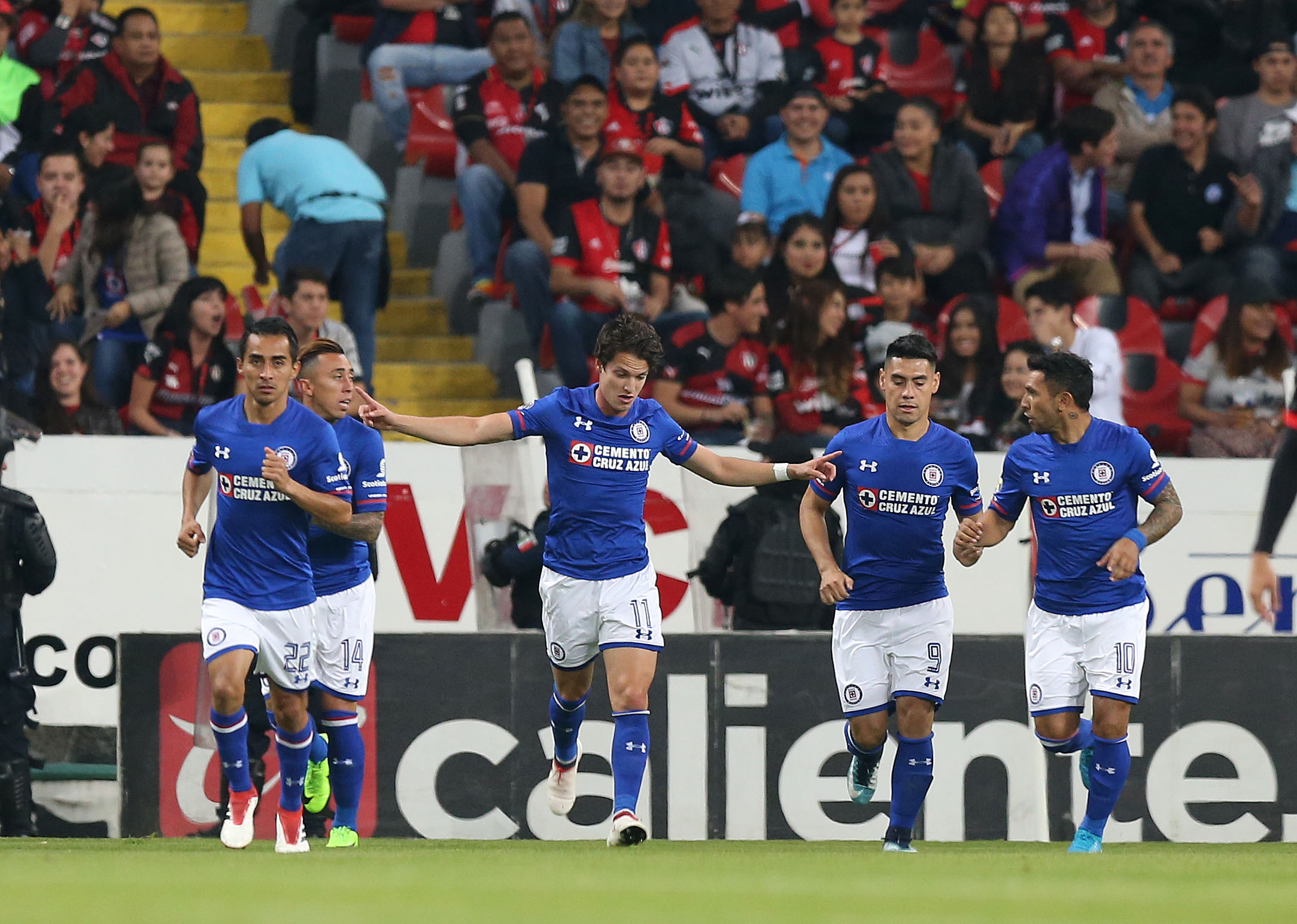 Cruz Azul vs Atlas Liga Mx 2018