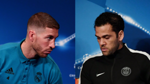 Sergio Ramos Daniel Alves PSG Real Madrid