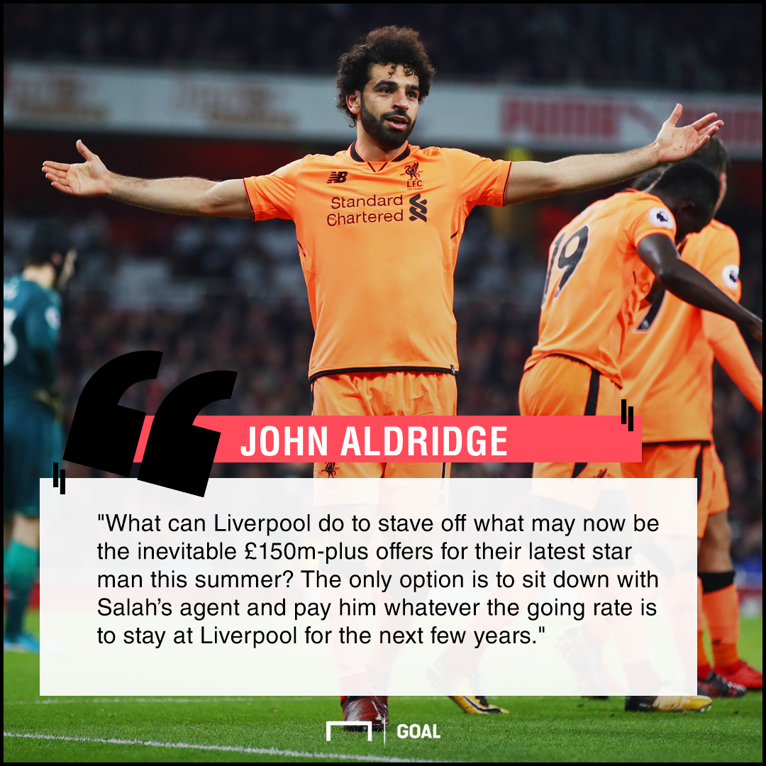 Mohamed Salah form bad news John Aldridge